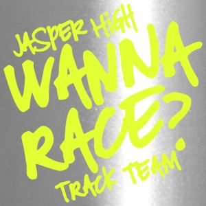 Jasper High Wanna Race Track Team - Travel Mug