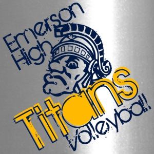 Emerson High Titans Volleyball - Travel Mug