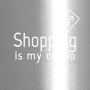 Shopping is my cardio - Travel Mug