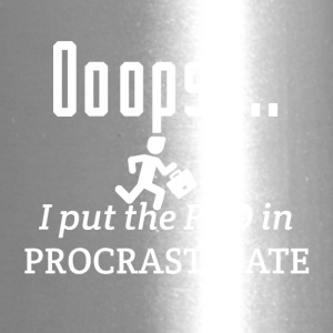 I put the PRO in procrastinate - Travel Mug