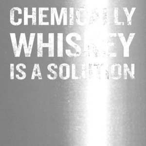 Chemically Whiskey Is A Solution Funny Drinking - Travel Mug