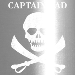 Funny Captain Dad Pirate Lover Fun Halloween - Travel Mug