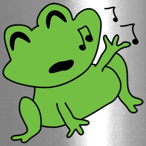 singing frog 2400px - Travel Mug