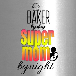 Baker by day super mom by night - Travel Mug