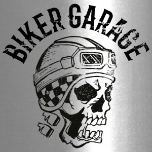 Biker garage skull tatoo - Travel Mug