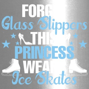 Forget Glass Slippers This Princess Wear Ice Skate - Travel Mug