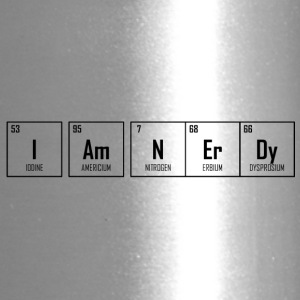 I Am NErDy - Periodic Table Design - Travel Mug