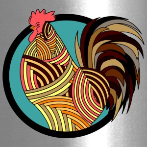 Colorful Rooster - Travel Mug