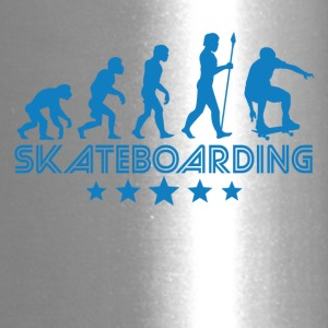 Retro Skateboarding Evolution - Travel Mug