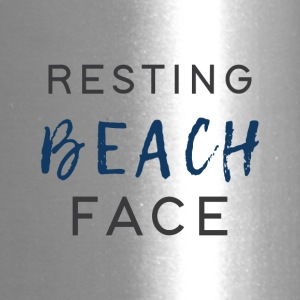 Resting Beach Face - Travel Mug