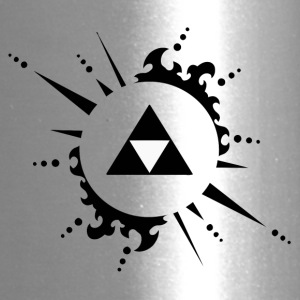 The legend of zelda Triforce vectorized - Travel Mug