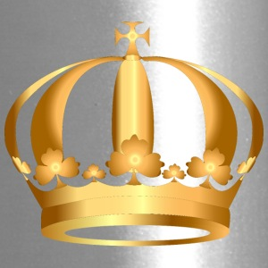 gold-crown-king - Travel Mug