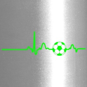 EKG HEARTBEAT SOCCER green - Travel Mug