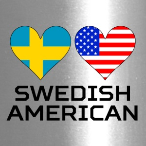 Swedish American Hearts - Travel Mug