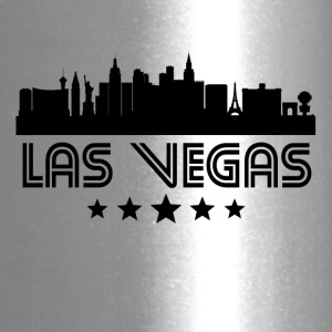 Retro Las Vegas Skyline - Travel Mug
