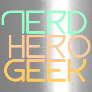 Nerd hero geek pastel - Travel Mug