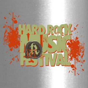 hard rock festival - Travel Mug