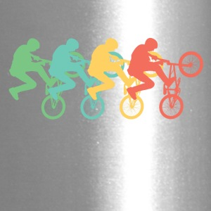 Retro BMX Pop Art - Travel Mug
