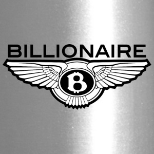 Billionaire - B Design (Black) - Travel Mug