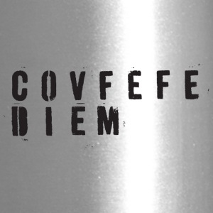 CovfefeDiem black - Travel Mug