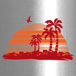 Sundown and Palms - Travel Mug
