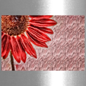 Red Sunflower - Travel Mug