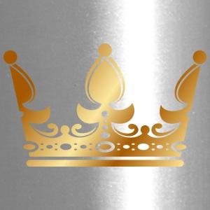 golden crown the king of rap drawing graphic arts - Travel Mug
