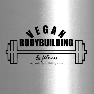 Vegan Bodybuilding & Fitness logo - Travel Mug