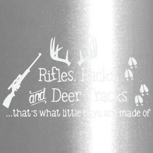 Rifles Racks and Deer tracks - Travel Mug