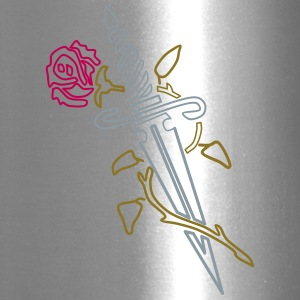 Rose with Knife - Travel Mug
