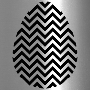 Black Easter Egg Chevron - Travel Mug