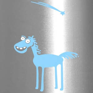 Blue horse - Travel Mug