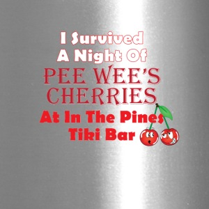 I Survived a Night of Pee Wee's Cherries - Travel Mug
