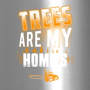 Trees are y homies Logger T-Shirts - Travel Mug