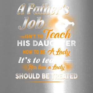 A Father s Job Farmer T Shirts - Travel Mug