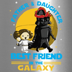Father and Daughter in the Galaxy - Travel Mug