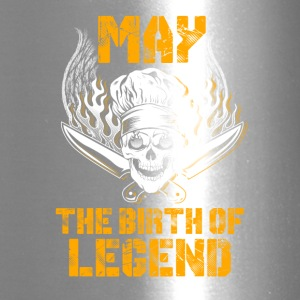 May the birth of legend Chef T-Shirts - Travel Mug
