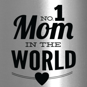 number_1_mom_in_the_world_white - Travel Mug