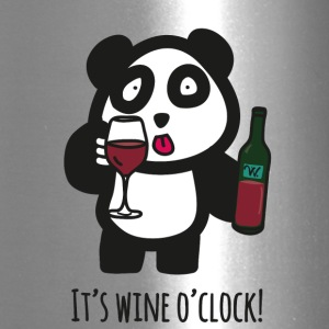 Drinking Panda - It's wine o'clock! - Travel Mug