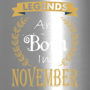 Legend Are Born In November - Travel Mug