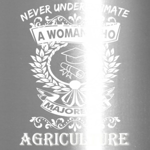 Never Underestimate Woman Who Majored Agriculture - Travel Mug