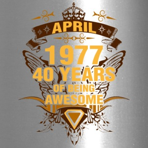 April 1977 40 Years of Being Awesome - Travel Mug