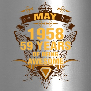 May 1958 59 Years of Being Awesome - Travel Mug