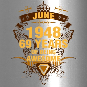 June 1948 69 Years of Being Awesome - Travel Mug