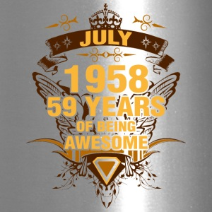July 1958 59 Years of Being Awesome - Travel Mug