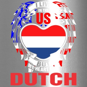 I Live In The Us But My Heart Is In Dutch - Travel Mug