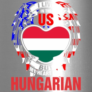 I Live In The Us But My Heart Is In Hungarian - Travel Mug