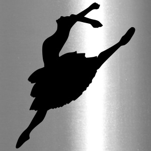 Vector Ballet Silhouette - Travel Mug