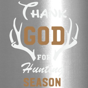 Thank God for hunting season1 - Travel Mug