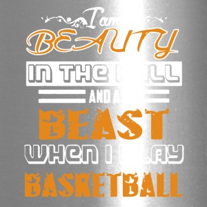 Beauty And The Beast Playing Basketball Shirt - Travel Mug